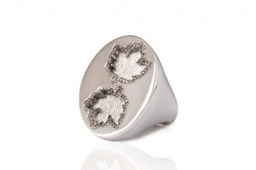 MIMIA LEBLANC RING WHITE GOLD DIAMOND