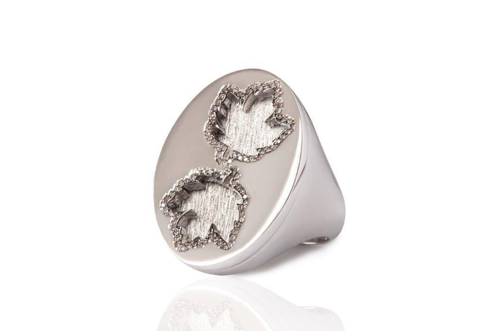 MIMIA LEBLANC RING WHITE GOLD DIAMOND