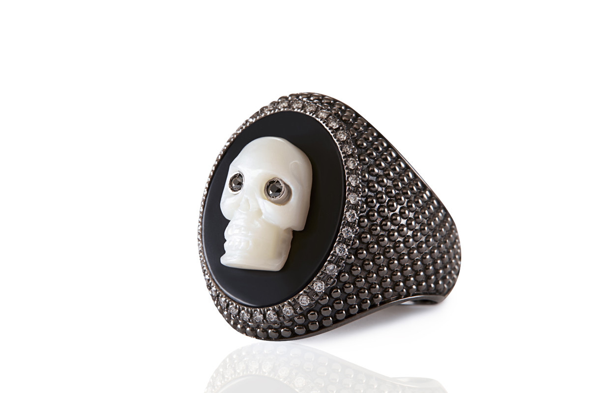 BLACK DIAMONDS ring Mimia LeBlanc Jewelry