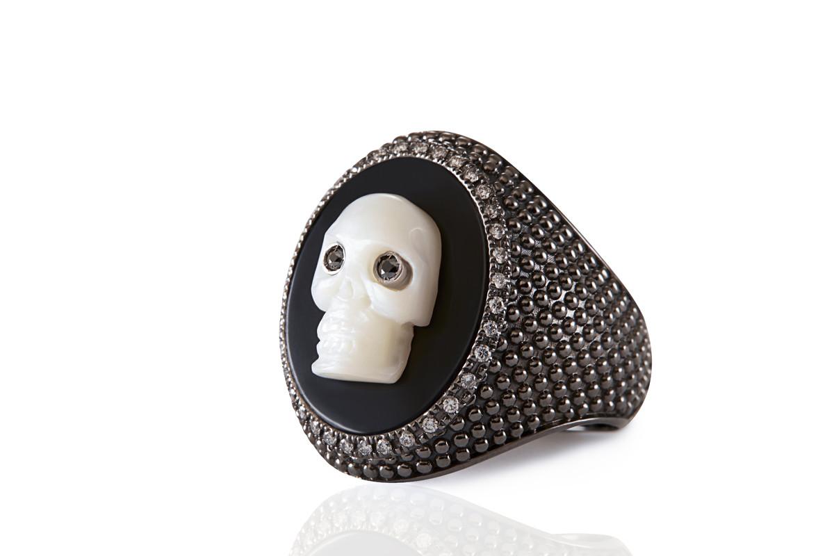 BLACK DIAMONDS ring Mimia LeBlanc Jewelry