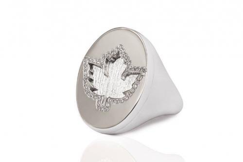 white gold diamond pinky ring mimia leblanc jewelry