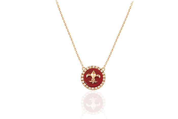 FLEUR DE LYS PENDANT Mimia LeBlanc Jewelry