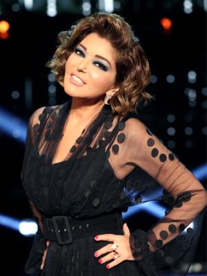 Diva Samira Said Wearing Etoile Celeste Rings